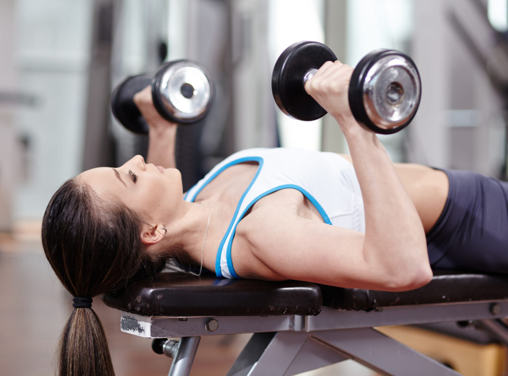 Boob lift workout