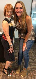 June kahn and Andrea Leonard Cancer Survivors